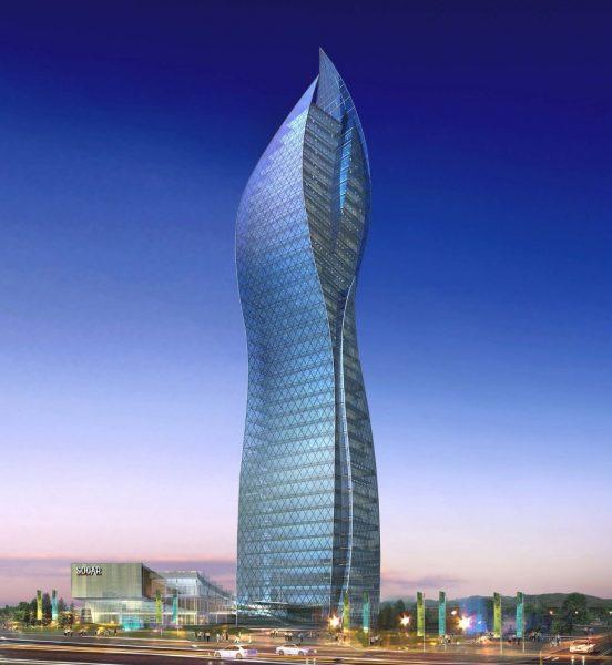 Небоскрёб Socar Tower в Баку