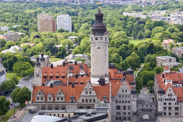 Новая ратуша в Лейпциге