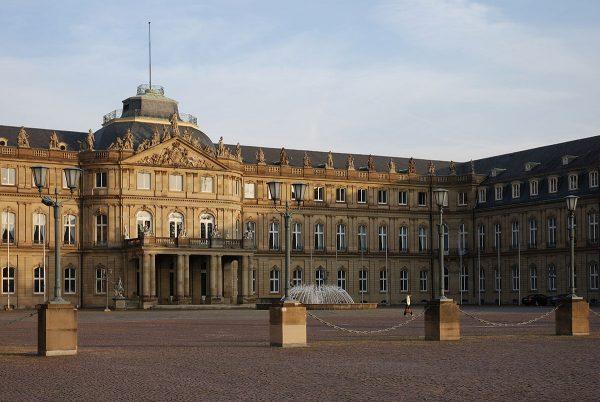 Новый дворец в Штутгарте