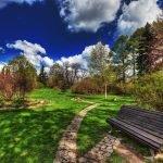 Ботанический сад осенью