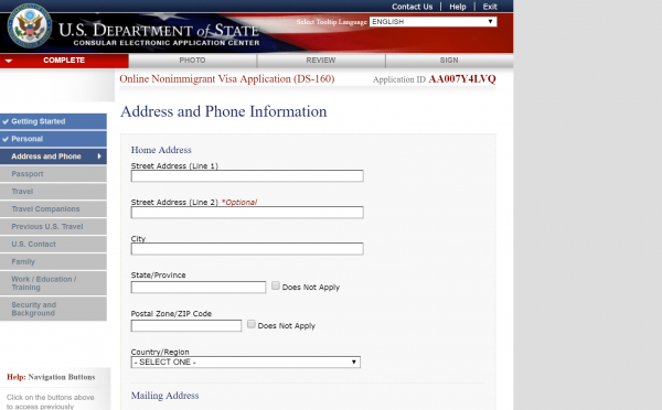 Раздел Address and Phone