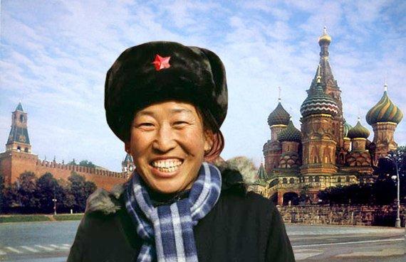 Иностранка в России