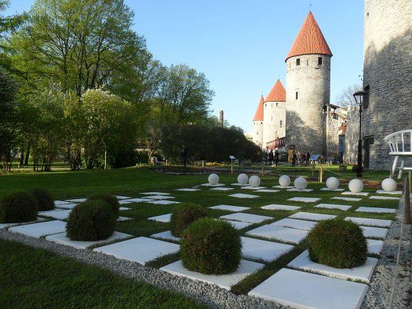 Башенная площадь в Таллине