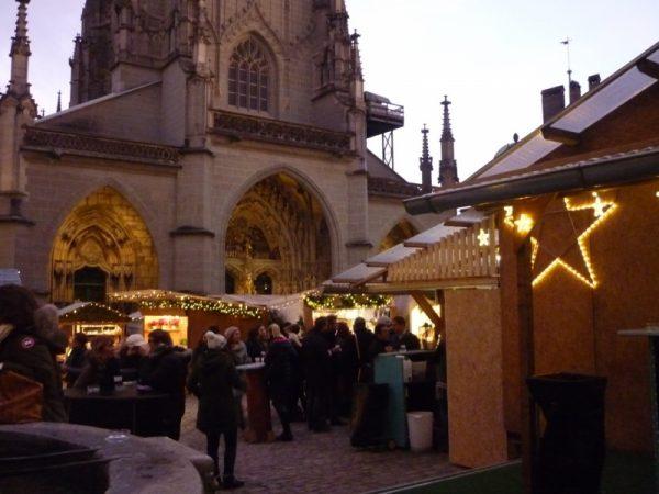Рождественская ярмарка в Берне