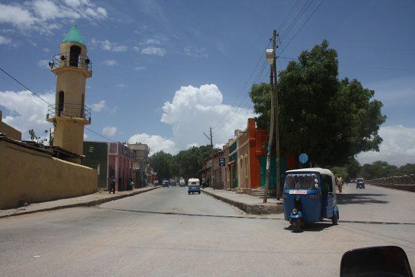 Одна из улиц города Дыре-Дауа
