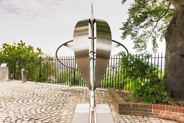 Нулевой меридиан в парке Гринвич