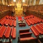 Палата лордов в Вестминстерском дворце