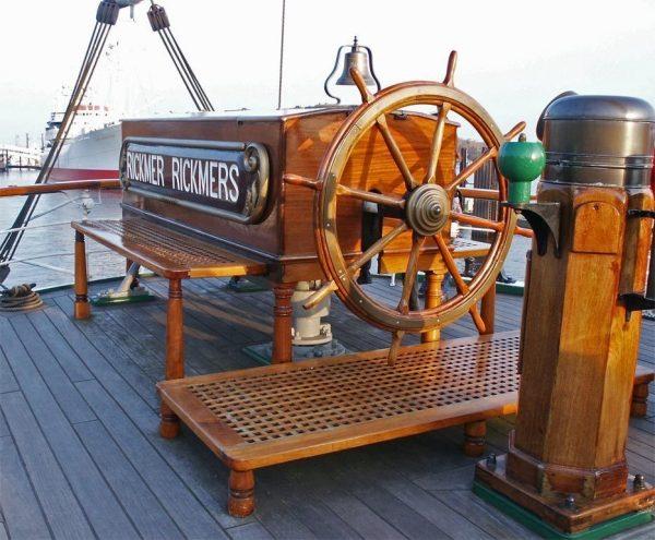 Палуба барка Рикмер Рикмерс