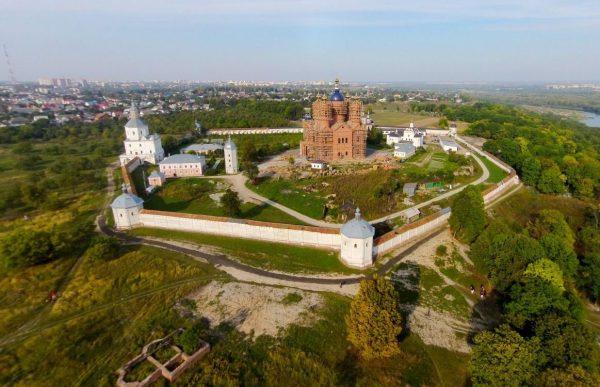 Панорама Свенского монастыря