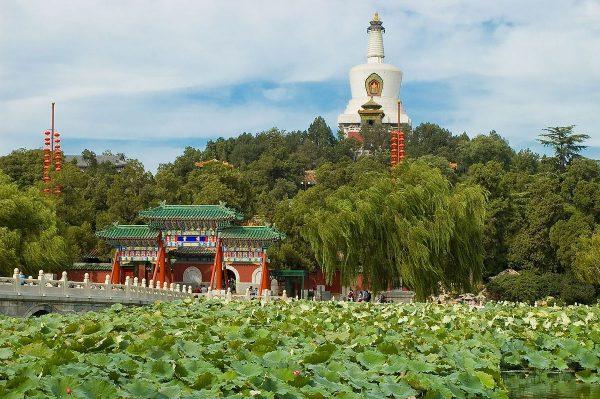 Парк Бэйхай в Пекине
