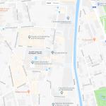 Парк Гента на карте