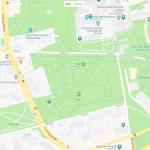 Парки Таллина на карте