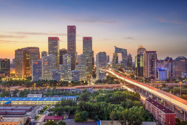 Вид на улицы Пекина