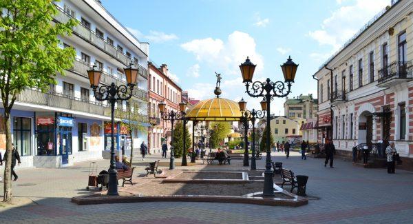 Пешеходная улица в Бресте