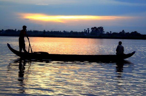 Плавание по реке Меконг