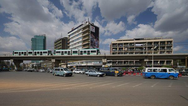 Площадь Мескель в Аддис-Абебе