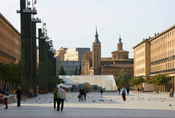 Площадь Пилар в Сарагосе