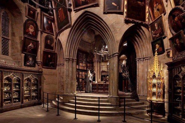 Один из павильонов в Музее Гарри Поттера