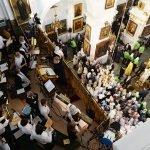 Служба в Кафедральном соборе