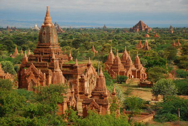 Пагоды в Мьянме
