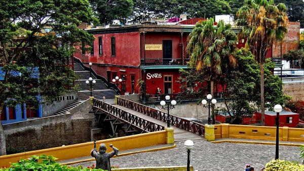 Мост вздохов в районе Барранко (Лима)