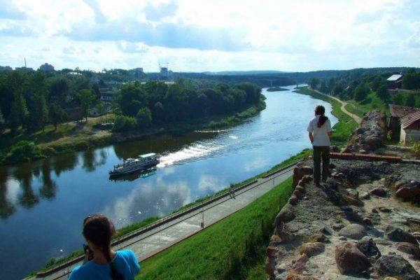 Река Неман в Гродно