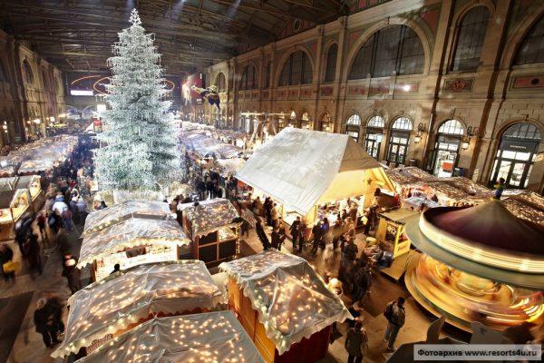 Рождество в Цюрихе