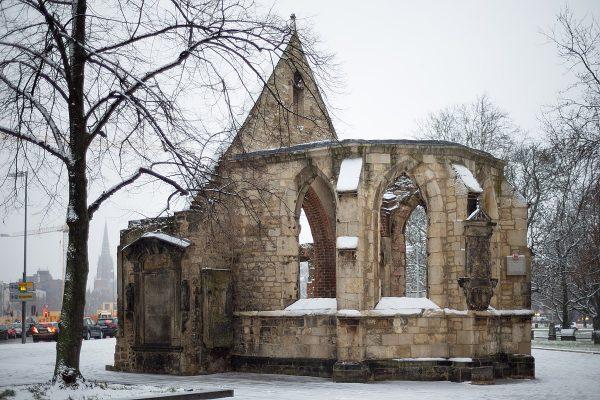 Руины церкви Святого Николая в Ганновере