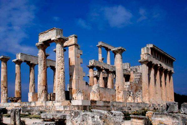 Руины храма Афродиты в Пафосе