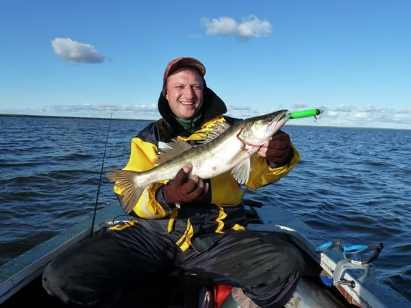 Рыбалка на Белом озере