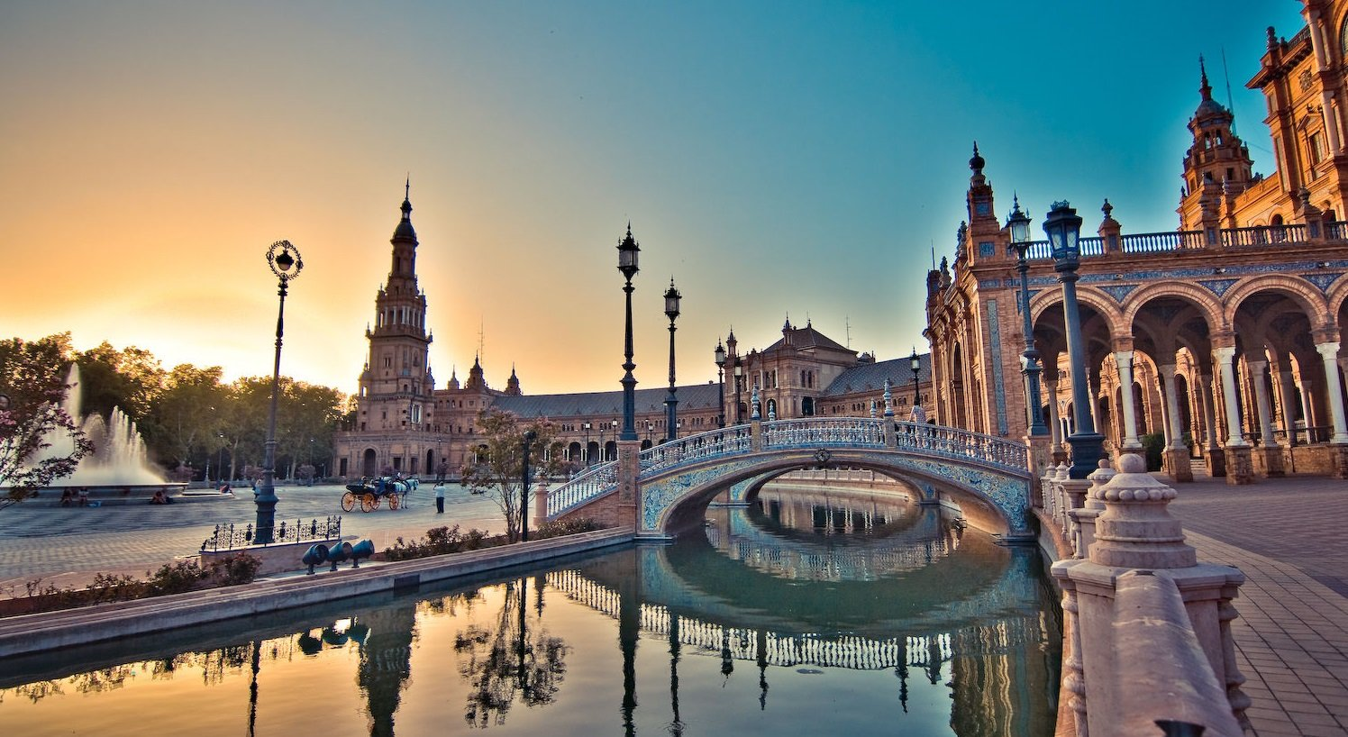 Севилья—апельсиновый город Испании