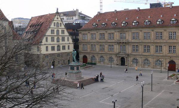 Шиллерплац в Штутгарте