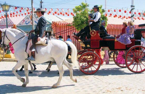 Шоу на Севильской ярмарке