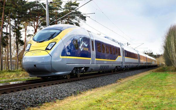 Скоростной поезд компании Eurostar