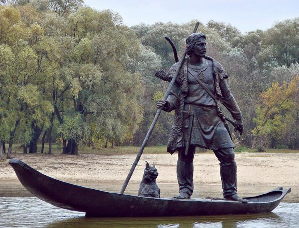 Скульптура «Лодочник»