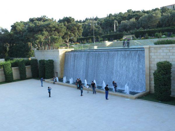 Смотровая площадка Нагорного парка в Баку
