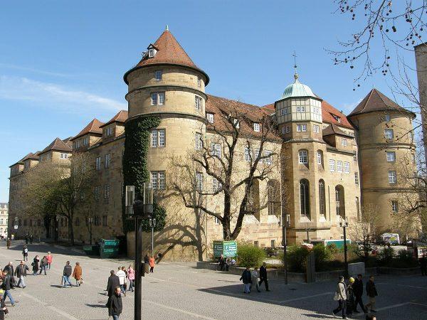 Старый замок в Штутгарте