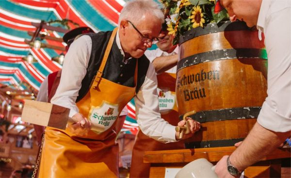 Фестиваль пива Cannstatter Volkfest