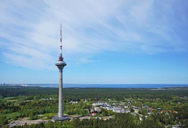 Таллинская телебашня в Эстонии