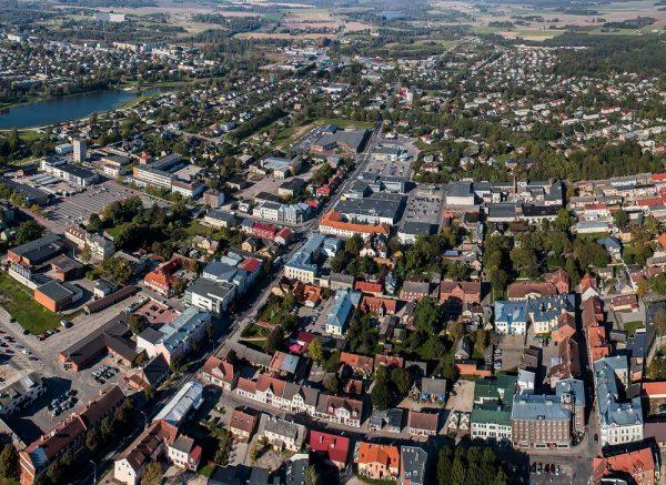 Вид на город Тарту