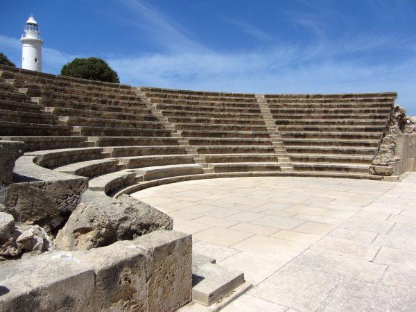 Театр (одеон) в Археологическом парке Пафоса