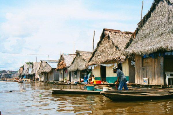 Традиционные индейские дома в Белене