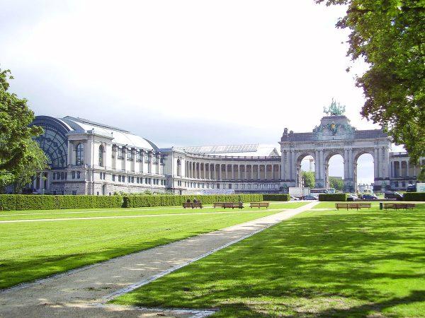 Триумфальная арка в Парке Пятидесятилетия