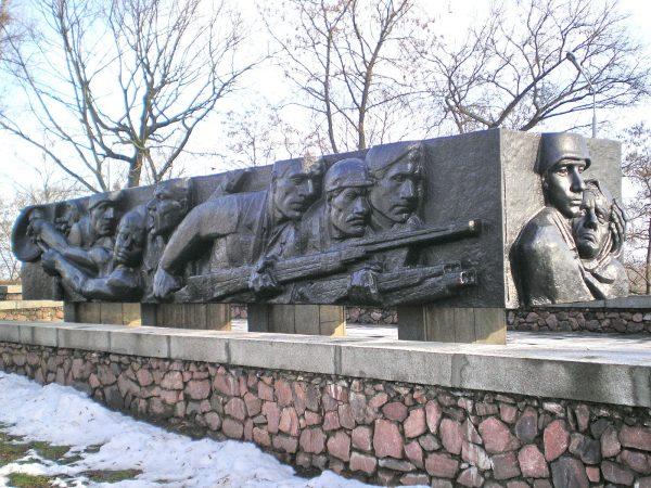 Памятник ополченцам-защитникам города