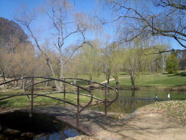 Уэстон Парк в столице Австралии