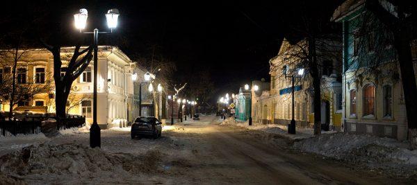 Улица Купеческая в Городце