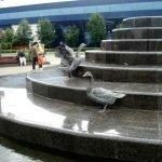 Скульптура «Гуси»