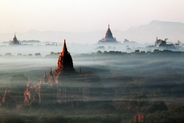 Туман в Мьянме