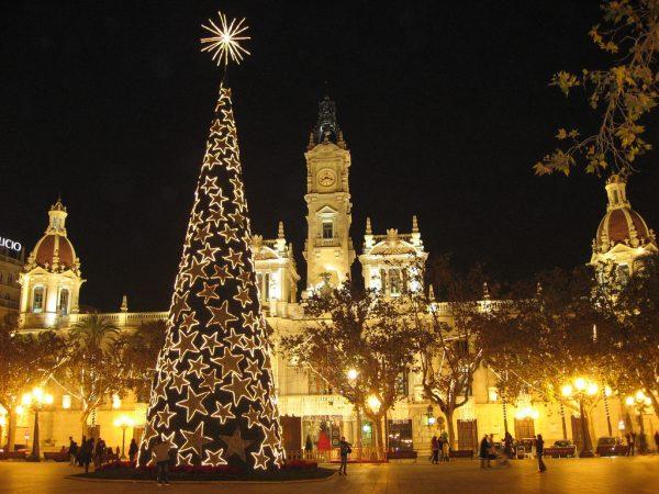 Валенсия в период новогодних праздников