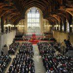 Вестминстер-холл в здании парламента